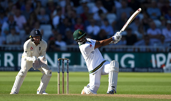 England v South Africa - 2nd Investec Test: Day Three Photograph by Gareth Copley