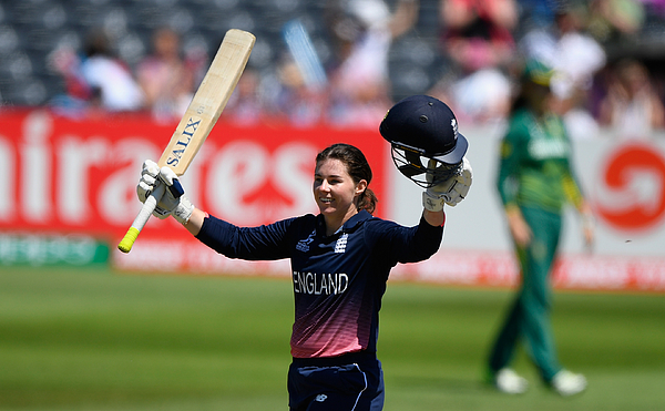 England v South Africa - ICC Womens World Cup 2017 Photograph by Stu Forster