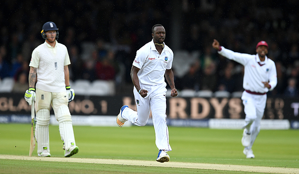 England v West Indies - 3rd Investec Test: Day Two Photograph by Gareth Copley