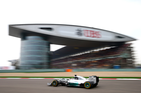 F1 Grand Prix of China Photograph by Clive Mason
