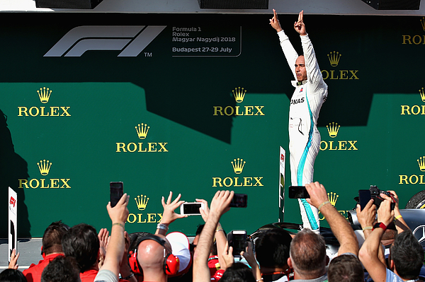 F1 Grand Prix of Hungary Photograph by Charles Coates