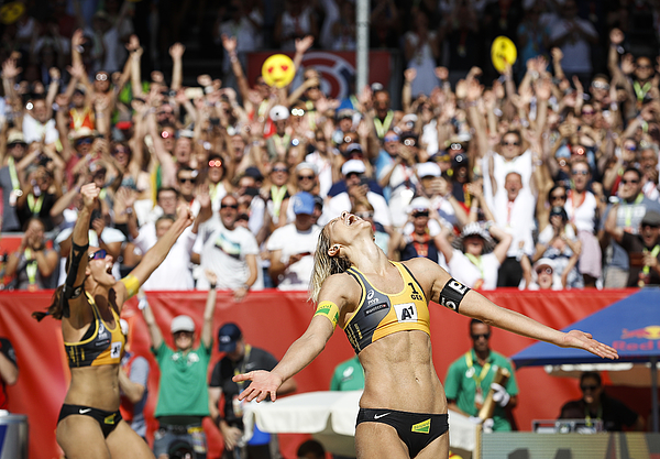 FIVB Beach Volleyball World Championships - Day 9 Photograph by Srdjan Stevanovic