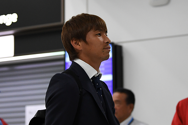 Japan National Team Returns Home Photograph by Takashi Aoyama