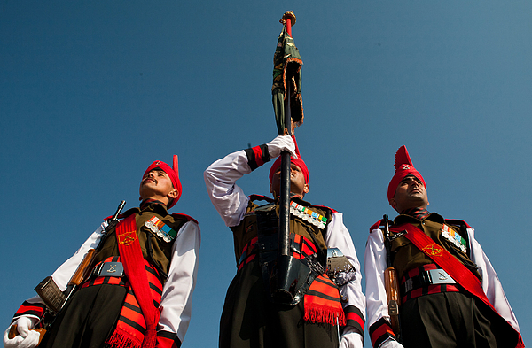 Kashmir Recruits Inducted Into Indian Army Photograph by Yawar Nazir