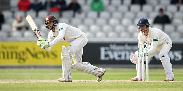Lancashire v Surrey - Specsavers County Championship: Division One Photograph by Gareth Copley