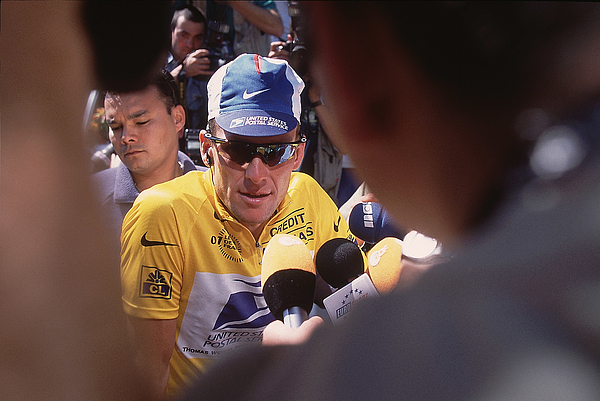 Lance Armstrong Photograph by Pascal Rondeau