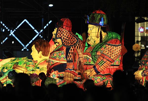 Lantern Festival Celebrates Buddhas Birthday Photograph by Chung Sung-Jun