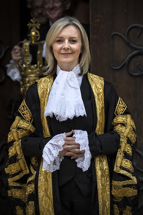 Liz Truss Is Sworn In As Lord High Chancellor Of Great Britain Photograph by Carl Court