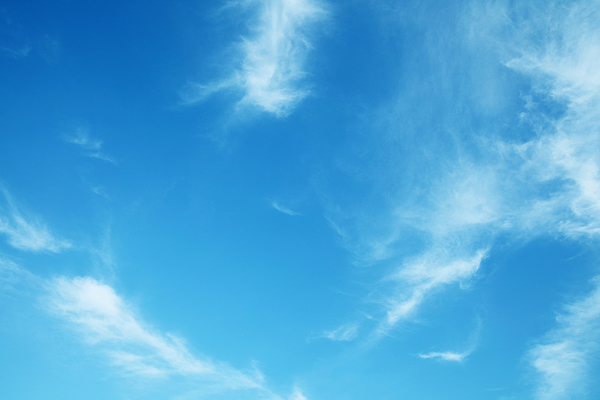 Low Angle View Of Clouds In Blue Sky Photograph by Runstudio