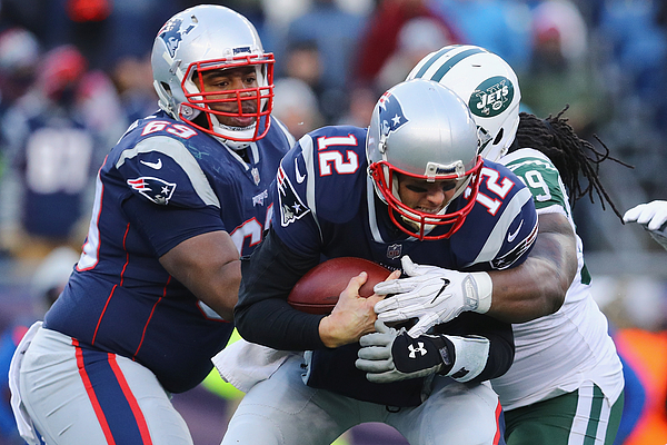 New York Jets Vnew England Patriots Photograph by Maddie Meyer