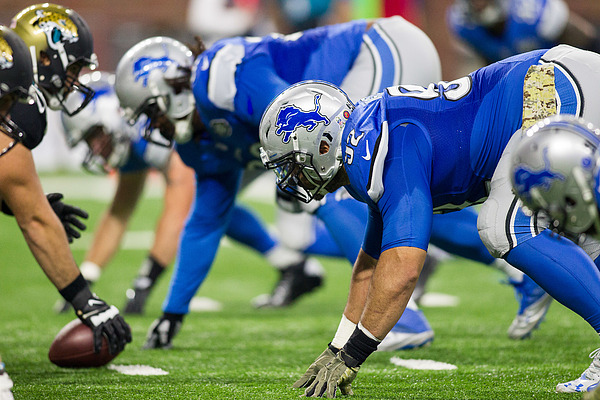 NFL: NOV 20 Jaguars at Lions Photograph by Icon Sportswire