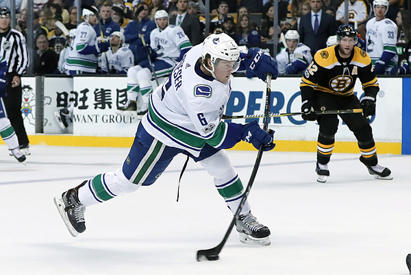 Nhl: Oct 19 Canucks At Bruins Photograph by Icon Sportswire