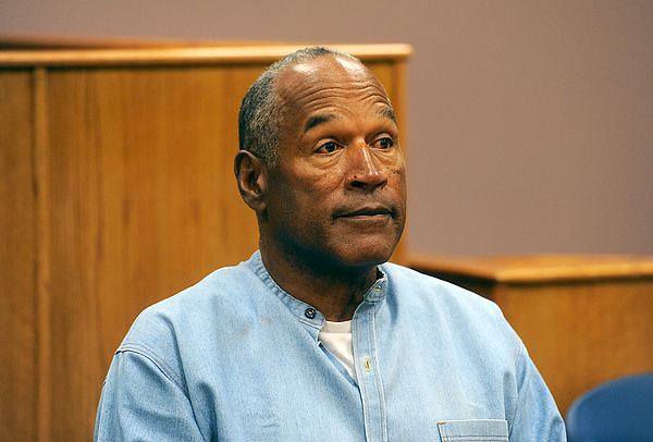 O.J. Simpson Granted Parole At Hearing Photograph by Pool