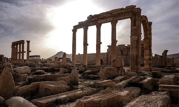 Palmyra after its recapture by Syrian government army Photograph by Valery Sharifulin