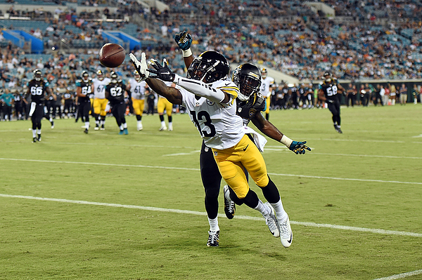 Pittsburgh Steelers v Jacksonville Jaguars Photograph by Stacy Revere