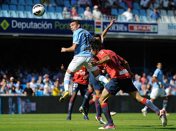 Rc Celta De Vigo V Ca Osasuna - La Liga Photograph by Denis Doyle
