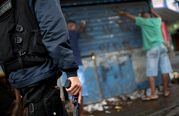 Rios Pacified Favelas Face Challenges Ahead Of World Cup Photograph by Mario Tama