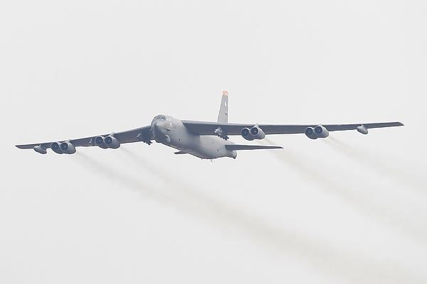 S. Korea And U.S. Deploy B-52 Strategic Bomber Over Korean Peninsula Photograph by Chung Sung-Jun