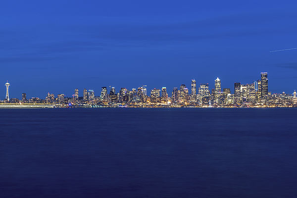 Seattle Skyline, Usa, Washington, Seattle Photograph by Malorny