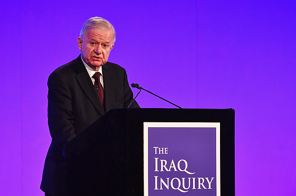 Sir John Chilcot Delivers The Iraq Inquiry Report Photograph by Jeff J Mitchell