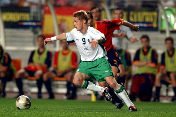 Soccer -FIFA World Cup 2002 - Second Round - Spain v Republic of Ireland Photograph by Tony Marshall - EMPICS