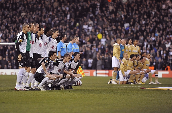 Soccer - UEFA Europa League - Round of 16 - Second Leg - Fulham v Juventus - Craven Cottage Photograph by Rebecca Naden - PA Images