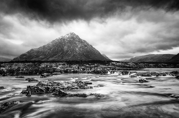 Storm In Glencoe Photograph by Theasis