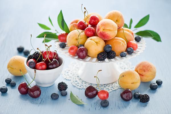 Summer fruit Photograph by Verdina Anna