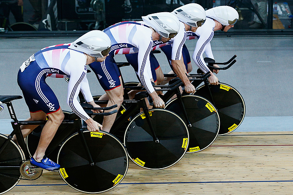 UCI Track Cycling World Championships - Day One Photograph by Dean Mouhtaropoulos