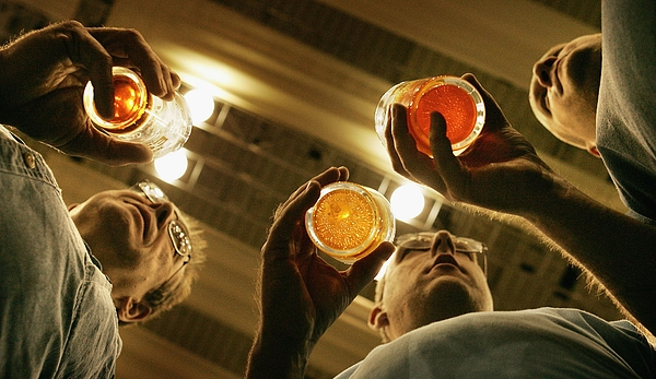 Vintage Brewers Join The Great British Beer Festival Photograph by Peter Macdiarmid