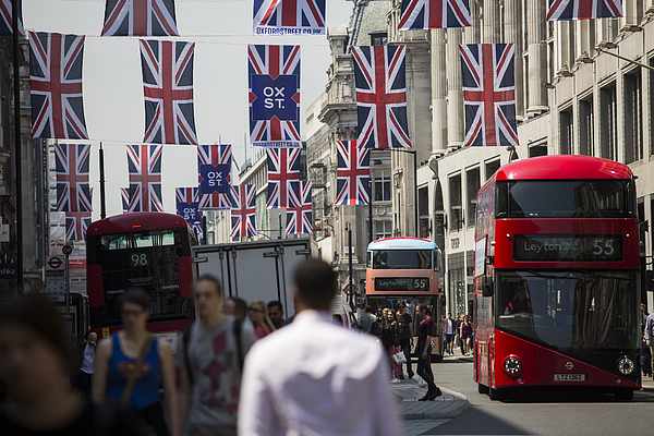 Warm Weather Helps High Street Sales To Rise Photograph by Jack Taylor