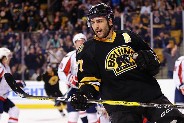Washington Capitals v Boston Bruins Photograph by Maddie Meyer