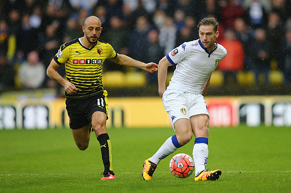 Watford v Leeds United - The Emirates FA Cup Fifth Round Photograph by Richard Heathcote