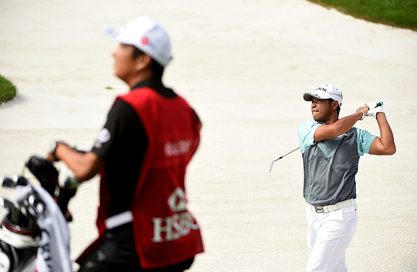 WGC - HSBC Champions: Day Two Photograph by Ross Kinnaird