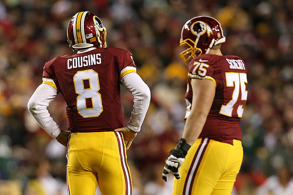 Wild Card Round - Green Bay Packers v Washington Redskins Photograph by Patrick Smith
