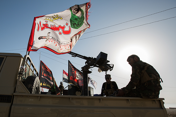 Islamic State Conflict - Mosul Photograph by NurPhoto
