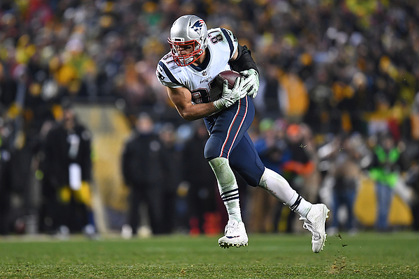 New England Patriots v Pittsburgh Steelers Photograph by Joe Sargent