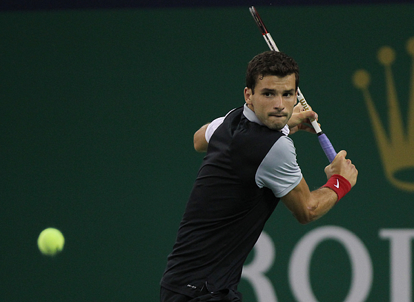 2014 Shanghai Rolex Masters 1000 - Day 2 Photograph by Zhong Zhi