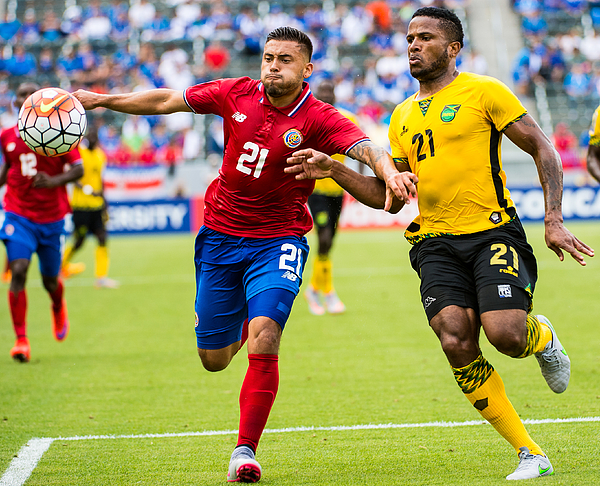 2015 CONCACAF Gold Cup - Group B - Costa Rica v. Jamaica Photograph by Shaun Clark