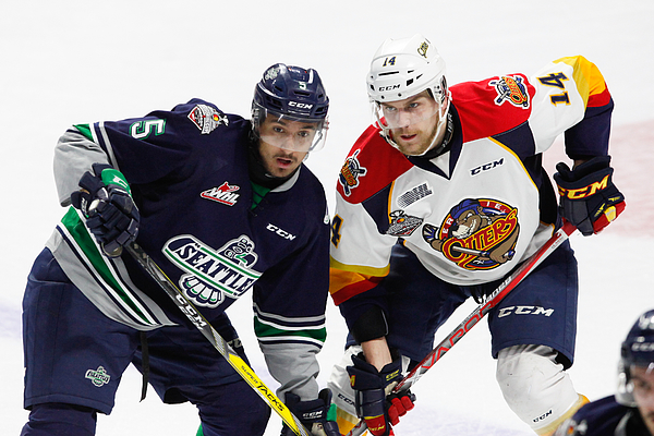 2017 Memorial Cup - Erie Otters V Seattle Thunderbirds Photograph by Dennis Pajot