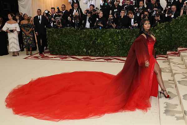 Heavenly Bodies: Fashion & The Catholic Imagination Costume Institute Gala Photograph by Taylor Hill