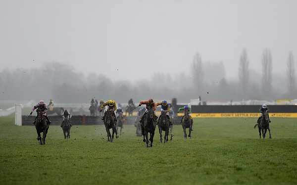Newbury Races Photograph by Alan Crowhurst