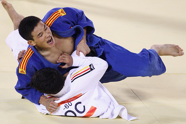 16th Asian Games - Day 4: Judo Photograph by Feng Li