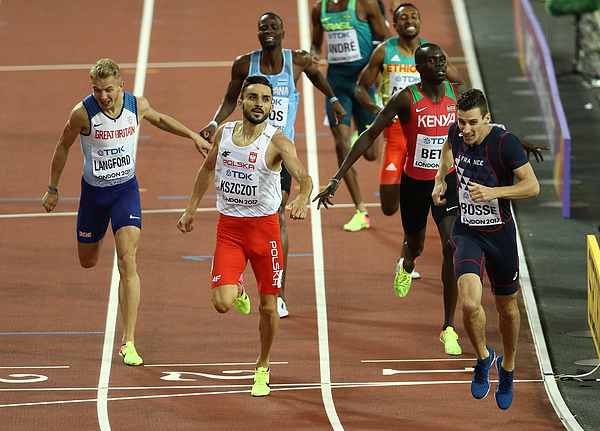 16th IAAF World Athletics Championships London 2017 - Day Five Photograph by Patrick Smith