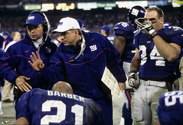 2000 NFC Divisional Playoff Game - Philadelphia Eagles vs New York Giants - January 7, 2001 Photograph by Al Pereira