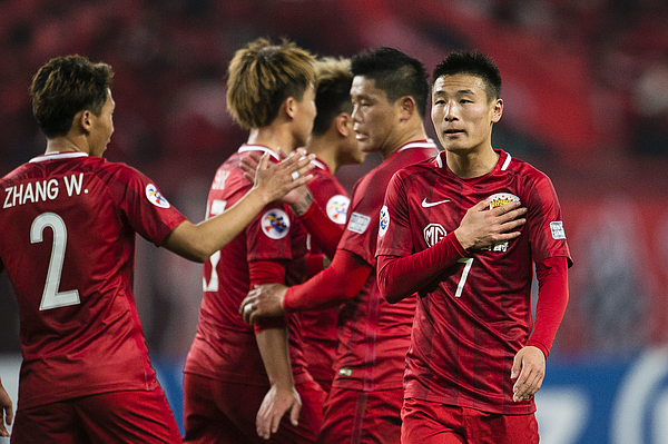 AFC Champions League 2017 - Group Stage - Match Day 2 - Shanghai SIPG FC (CHN) vs Western Sydney Wanderers (AUS) Photograph by Power Sport Images
