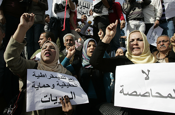 Anti-Government Protest In Baghdad Photograph by Getty Images