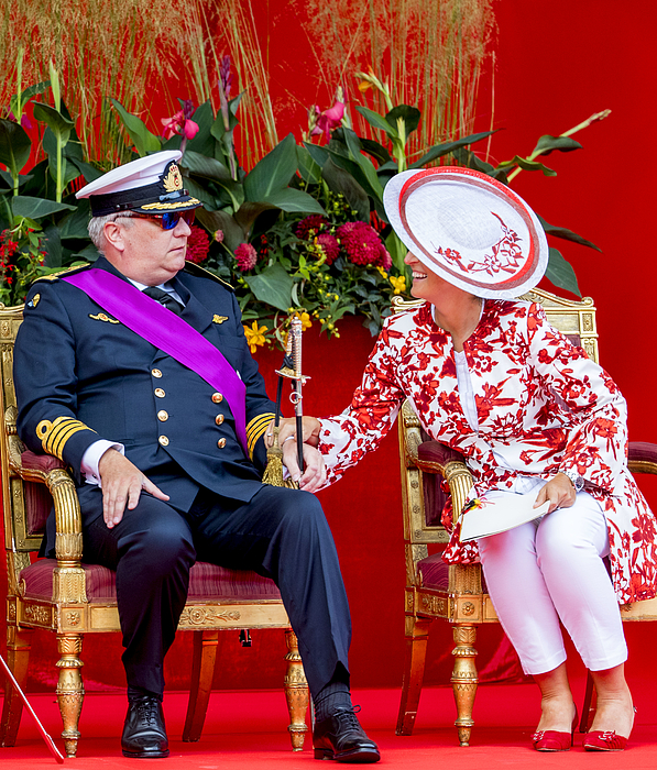 Belgian Royals Attend National Day Photograph by Patrick van Katwijk
