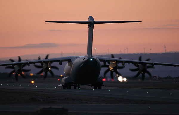British Fighter Jets At RAF Akrotiri in Cyprus Photograph by Matt Cardy