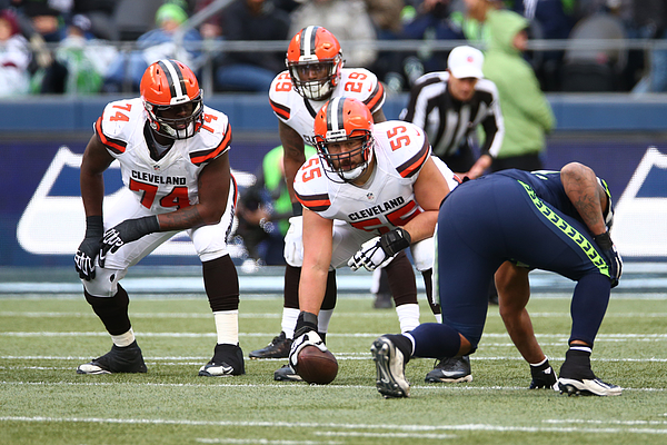 Cleveland Browns v Seattle Seahawks Photograph by Rob Leiter